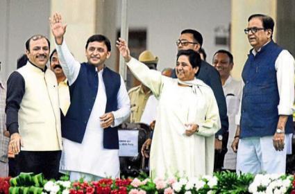 Mahagathbandhan Fails, Mayawati Blames SP For Failing - Sakshi