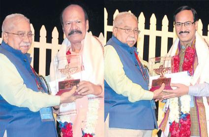 Bandi Narayana Swamy And Pennu Madhusudhan Rao Got Central Sahitya Akademi Awards - Sakshi