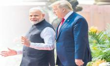 Donald trump India Visit: Trump and Modi have been in talks for nearly five hours - Sakshi