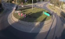 Car Hits Roundabout Goes Airborne Video Viral