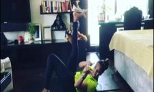 Bipasha Basu Nailed  Shoe Challenge In New Fitness Video