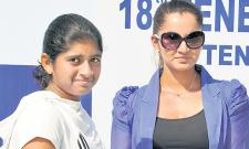 Sania Provides Financial Support For Low Ranked Players - Sakshi