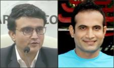 Sourav Ganguly Backed Me  A Lot, Irfan Pathan - Sakshi