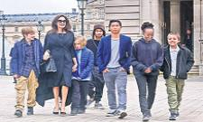 Angelina Jolie Says Her Kids Are Helping Each Other - Sakshi