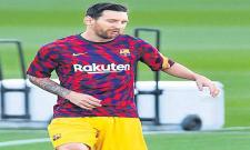 Lionel Messi Is Number One In Earnings - Sakshi