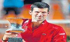 New Record For Novak Djokovic - Sakshi