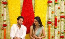 Hero Nithin Engagement Photo Gallery - Sakshi