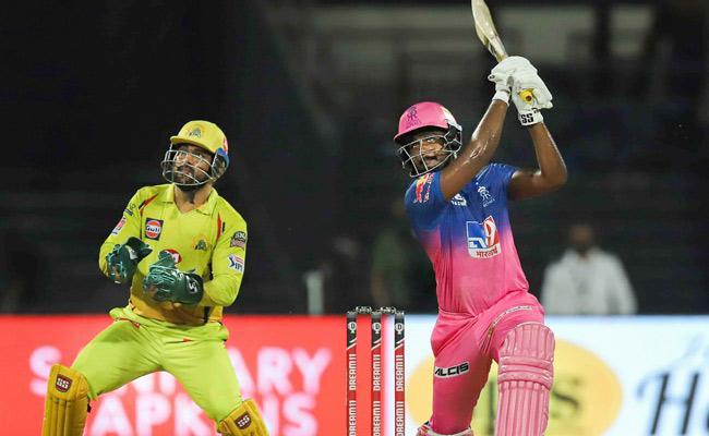 Rajasthan Royals Set Target Of 217 Runs Against CSK - Sakshi