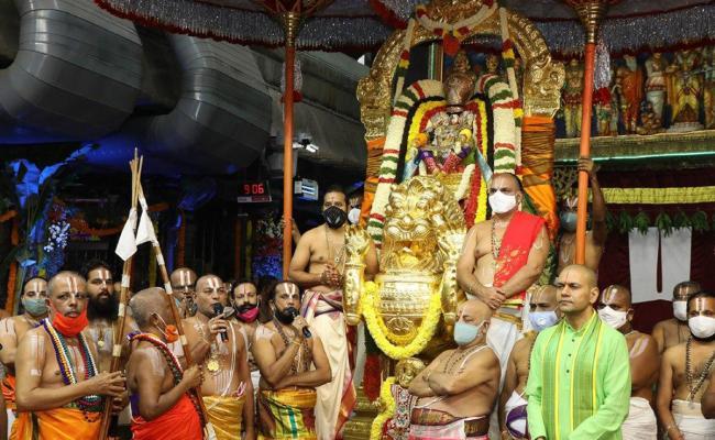 Brahmotsavam in Tirupati 2020 photos - Sakshi