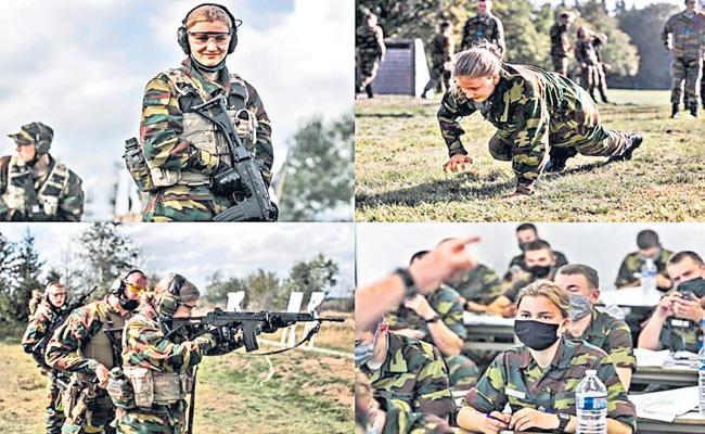 Belgium Crown Princess Elisabeth Starts Her Military Training - Sakshi
