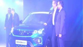 Tata Motors launches the Nexon EV launched - Sakshi