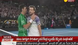Novak Djokovic Wins the Australian Open Again - Sakshi