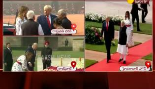 Donald Trump Reach Hyderabad House