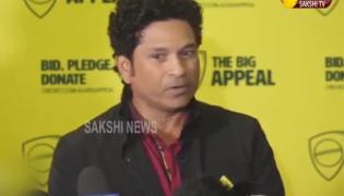 Tendulkar urges fans to donate during Bushfire Bash - Sakshi