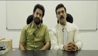 Ram Charan And Jr NTR Awareness Video On Coronavirus - Sakshi
