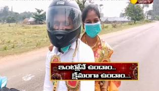 Newly Married Couple Got Risky Due To Lock Down In Srikakulam District