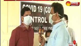 Corona patient recover in nellore hospital