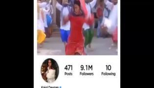 Bollywood Heroine Kajol Reached Ten Million Followers On Instagram