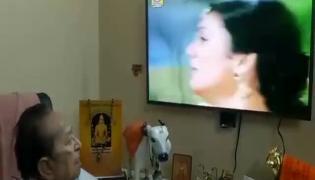 81 Year Old Ravana Character Arvind Trivedi Watching Sita Haran Scene