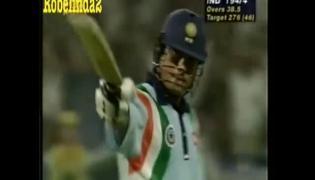 Sachin Tendulkar Desert Storm Innings Against Australia in 1998 Sharjah Cup