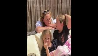 Healthcare Worker Mom Meets Daughters After 2 Months Viral Video