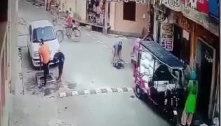 Viral Video: Elderly Woman Gets Beaten in Public