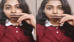 Bangalore Young Woman Creating Music Wonders With Harmonica - Sakshi