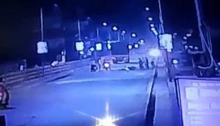 Road Accident On Jammikunta Flyover Bridge