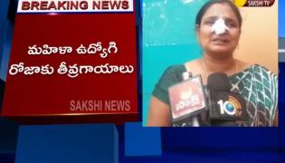 Senior Assistant Attack On Roja In Kamareddy