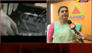 RK Roja Fires On Nara Lokesh Babu Over Fiber Grid Scam