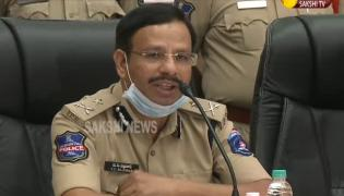 V.C. Sajjanar Press Meet On Double Bed Room Cheating Case