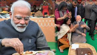 PM Narendra Modi Visits Artisans Fair Hunar Haat in New Delhi Photo Gallery - Sakshi