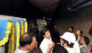 CM Jagan Inspects Veligonda Project at Prakasam Photo Gallery - Sakshi