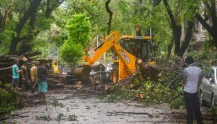 Cyclone Nisarga To Hit Alibaug Near Mumbai Photo Gallery - Sakshi