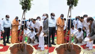 CM Jagan launches 71st Vana Mahotsavam in Krishna district Photo Gallery - Sakshi