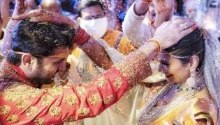 Hero Nithin Weds Shalini Marriage Photo Gallery - Sakshi