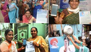womens happy in YSR Cheyutha photo gallery - Sakshi