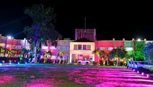 Andhra pradesh Raj Bhavan Lighting for 74th Independence Day Photo Gallery - Sakshi