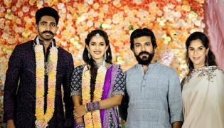 konidela niharika engagement photo gallery - Sakshi