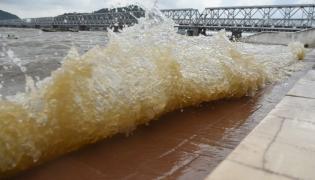 Krishna River Water Reach Heavy inflow Photo Gallery - Sakshi