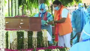 Pranab Mukherjee Funeral Photo Gallery - Sakshi