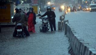 Heavy Rains In Hyderabad  - Sakshi