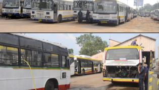 APSRTC bus services to start from tomorrow in Andhra pradesh Photo Gallery - Sakshi