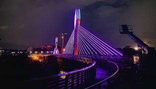 Hyderabad Durgam Cheruvu cable bridge photos - Sakshi