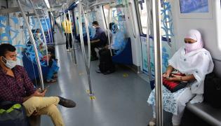 Metro Rail Service Started Hyderabad Photo Gallery - Sakshi