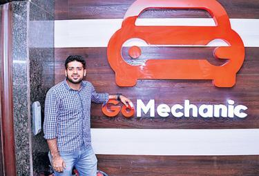 Go Mechanic Startup Company Special Story - Sakshi