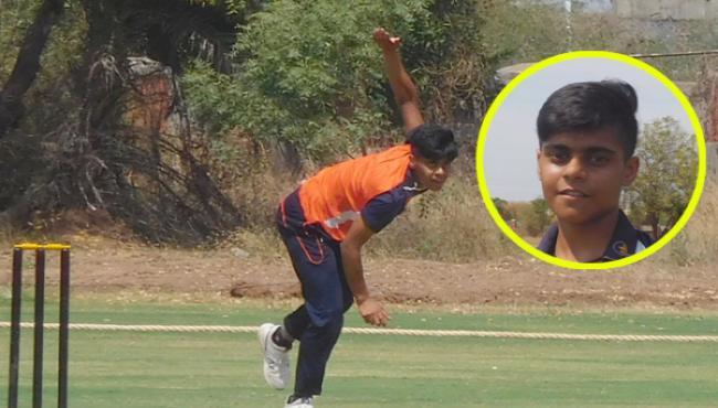Chandigarh Women Cricketer Kashvee Gautam Claims All 10 Wickets - Sakshi
