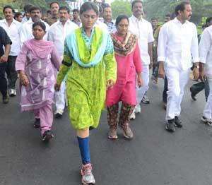 Sharmila Padayatra
