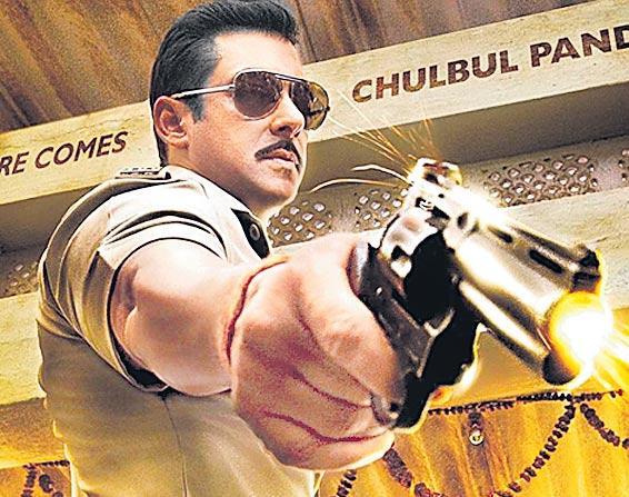 Salman Khan starts shooting for Dabangg 3 - Sakshi