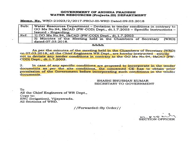 Shashi Bhushan Kumar scam in Irrigation works - Sakshi